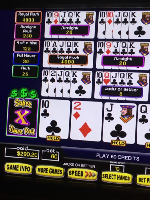 Video Poker - 1st Royal Flush | Vegas Message Board