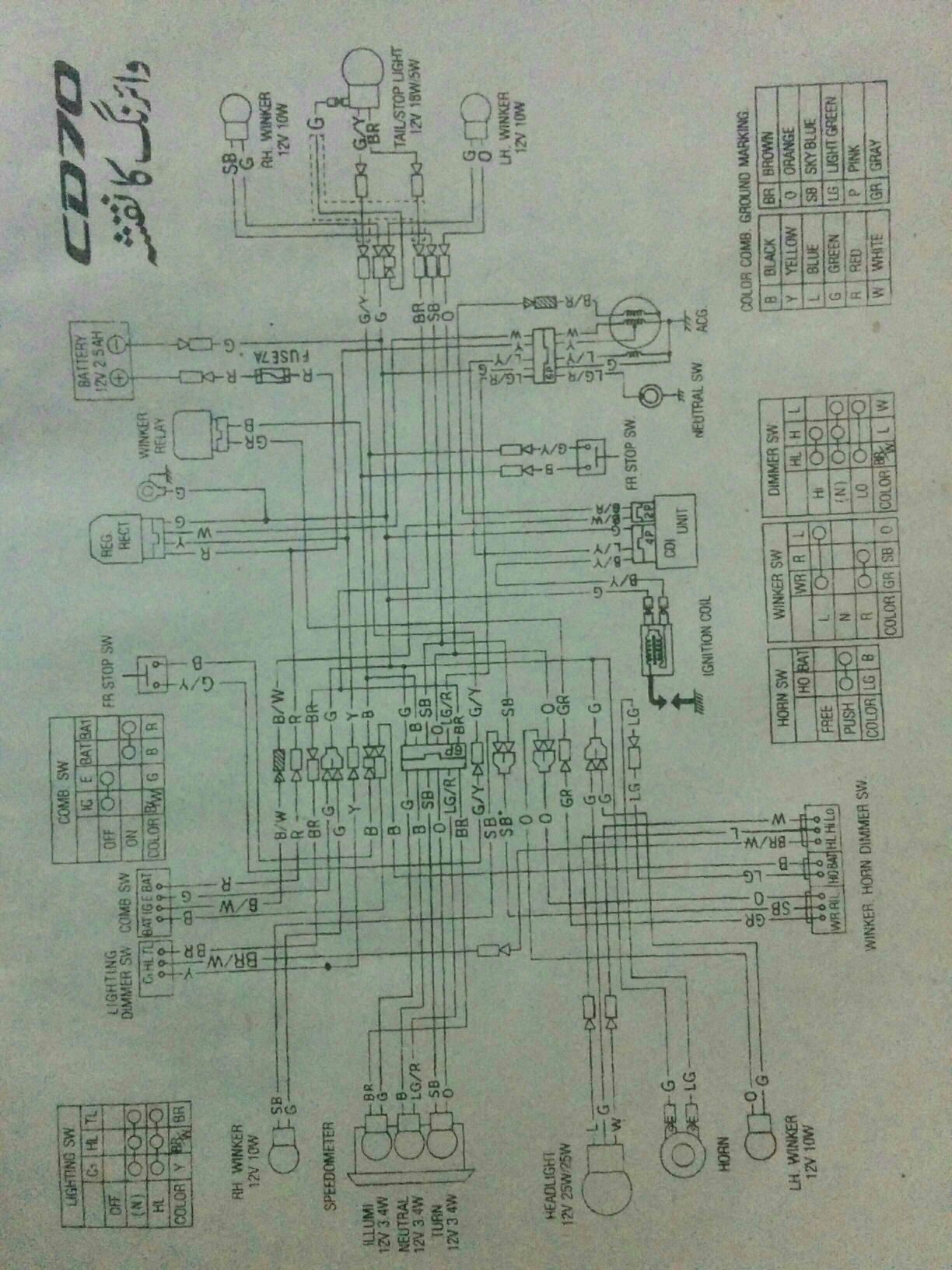 Bike Wiring Diagram Pdf Need Cd70 Service Manual Honda Bikes Pakwheels Forums Sent From My Nexus 5 Using Tapatalk