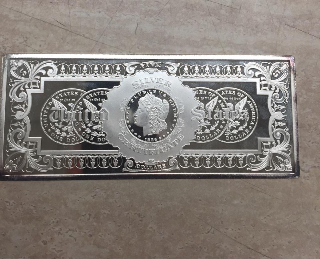 1 Troy Pound Silver Bar Survivalist Forum