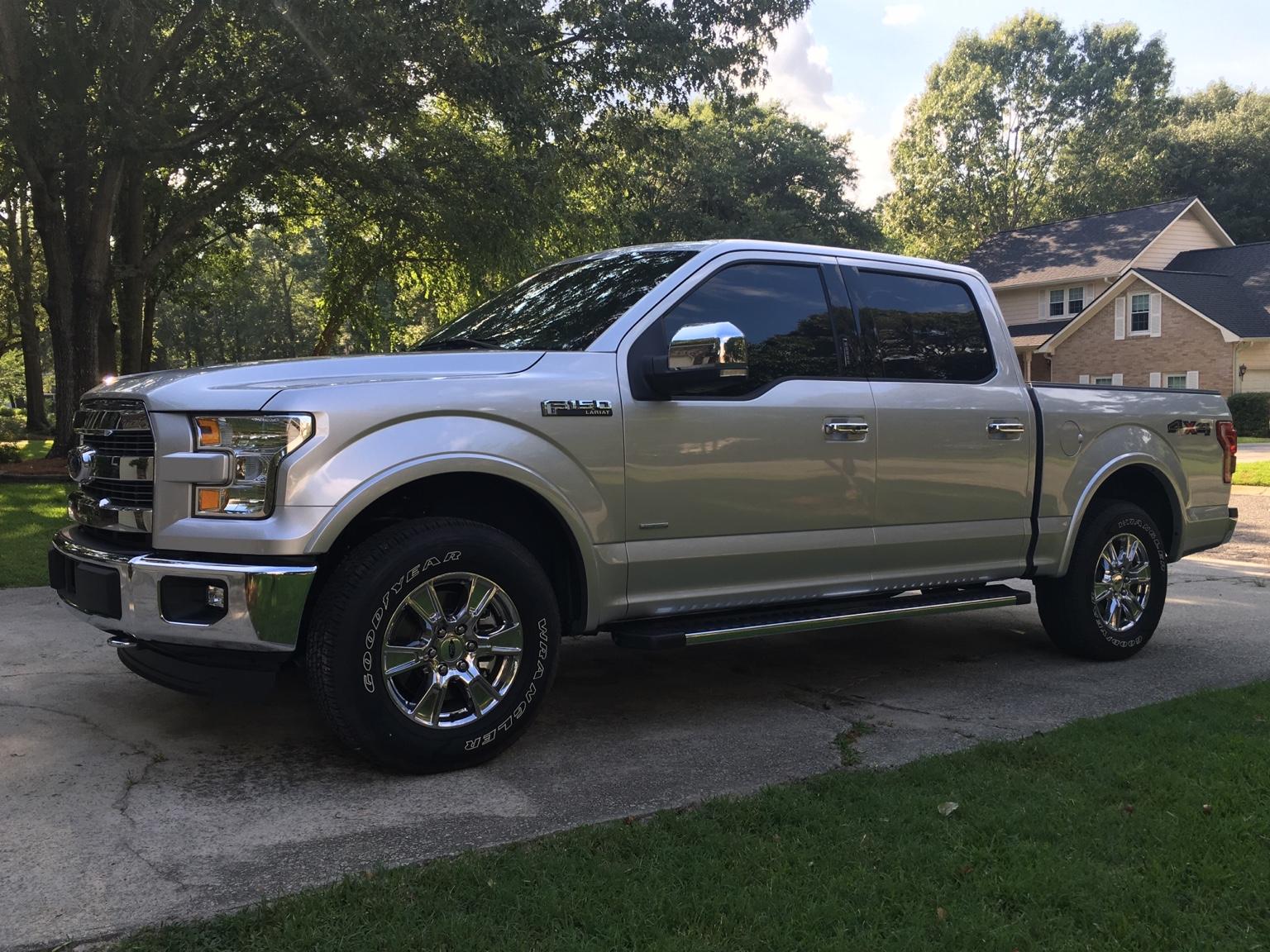 Ford F 150 Platinum Interior >> Matching 2016 Factory tint