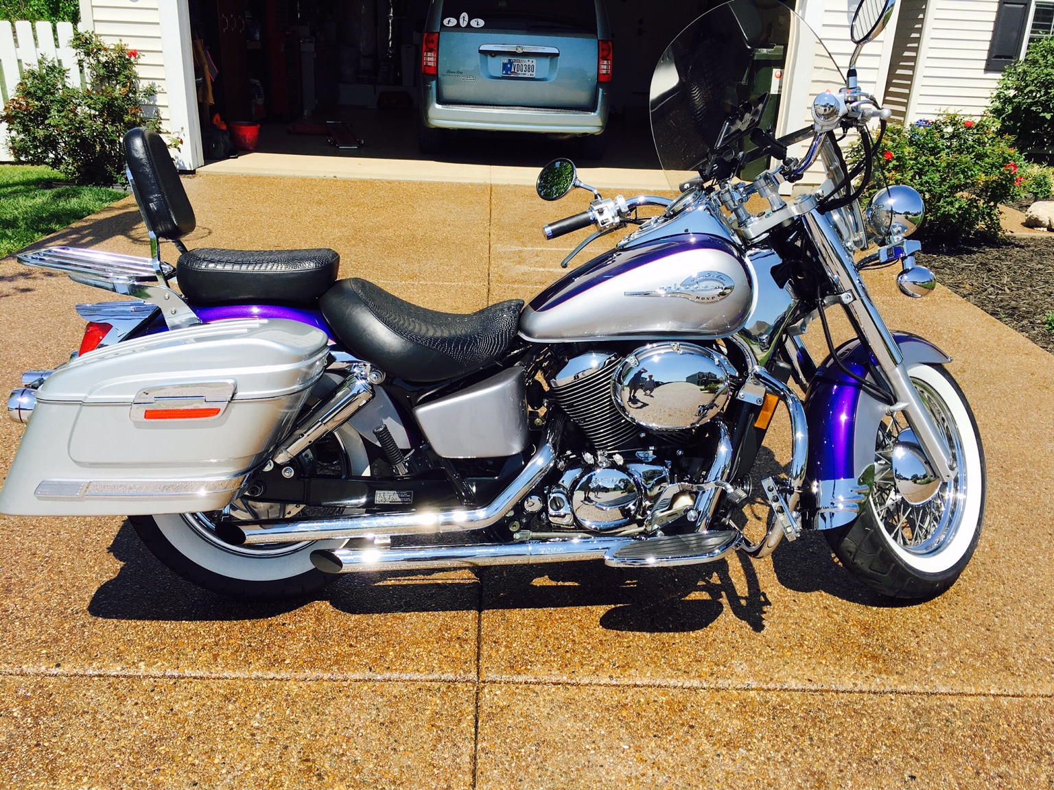 White Walls For Ace Honda Shadow Forums Shadow