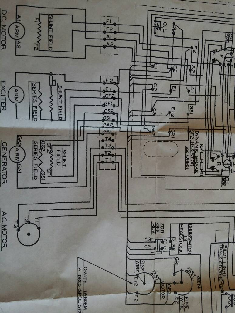 Monarch Lathe Wiring Diagram Building A Enco 10ee Motor Generator Troubleshooting Page 8 Drum Switch
