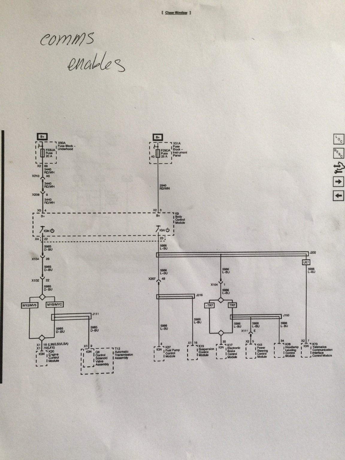 Anyone Have 2015 Ss Manual With Harness Information Camaro5 Chevy 2014 Camaro Wiring Diagram Data I Can Find My Wires On The Wire Diagrams But Im Easily Lost After Trying To How Pin In Through Fuse Box