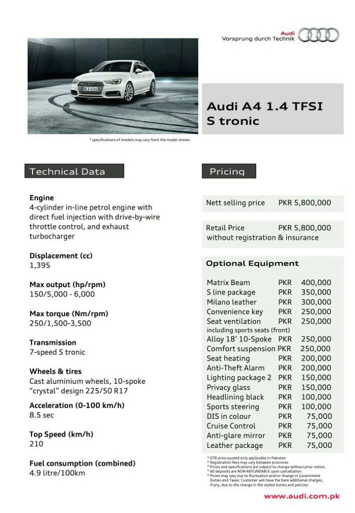 Current Prices of Audi Sedans - 78ab886f69babebb253f85a2c242cf29