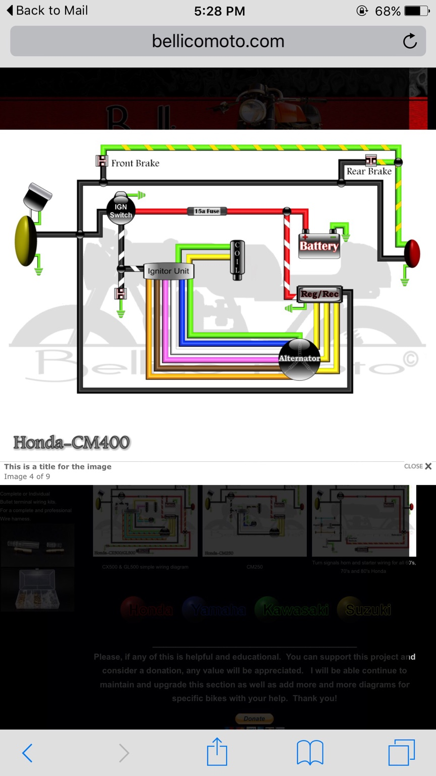 Honda Cm400a Wiring Diagram Explained Diagrams Gl1100 Cm400 Trusted Atc 200 Help