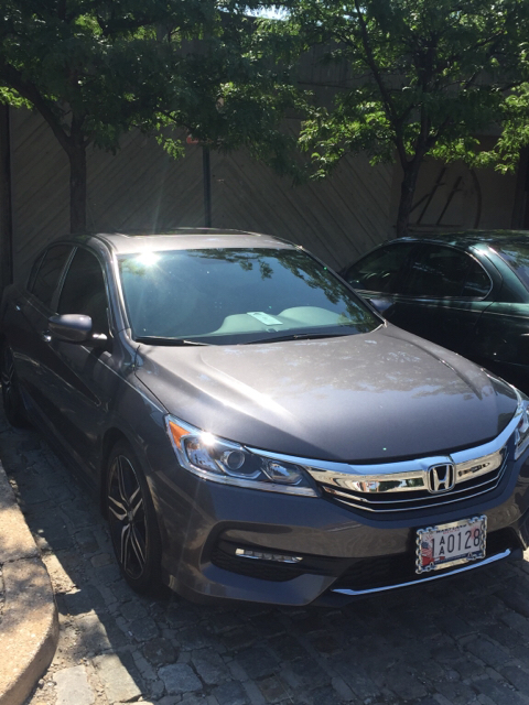 How Does This 2016 Accord Sport Have A Sunroof I M