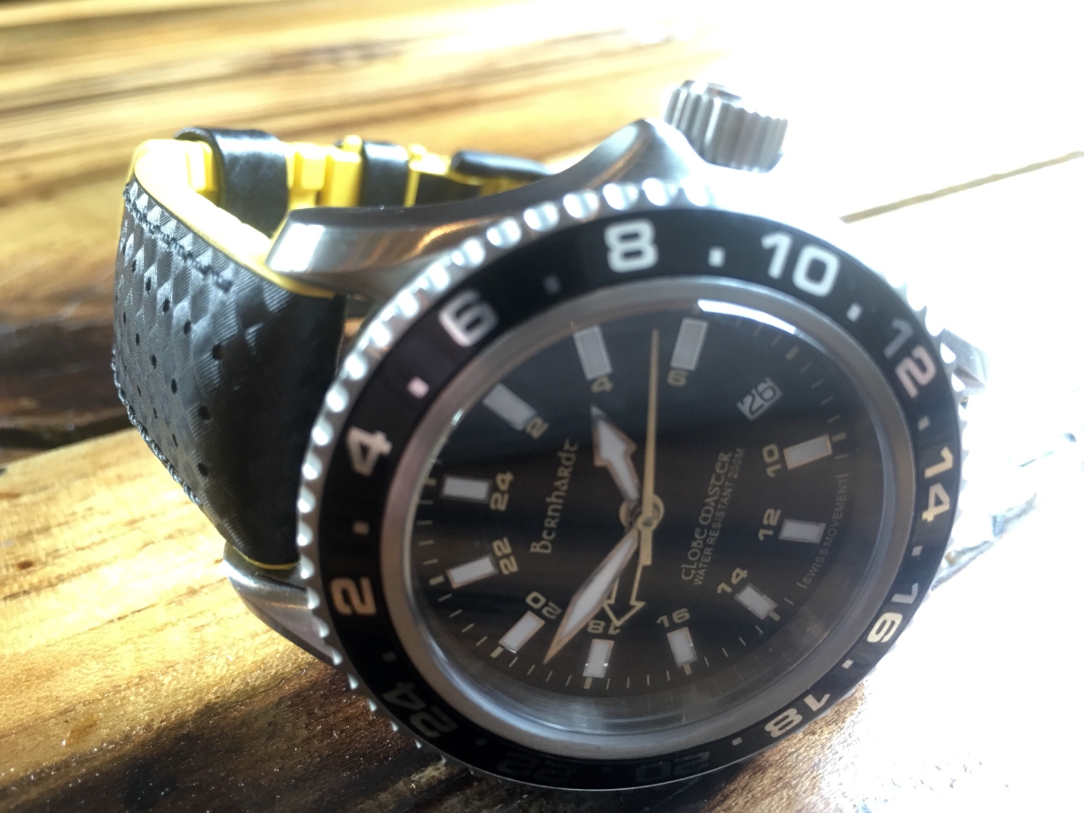 600c75ab37 Calling all Fred-Heads!!!! Let's see your Bernhardt Watch - Page 10