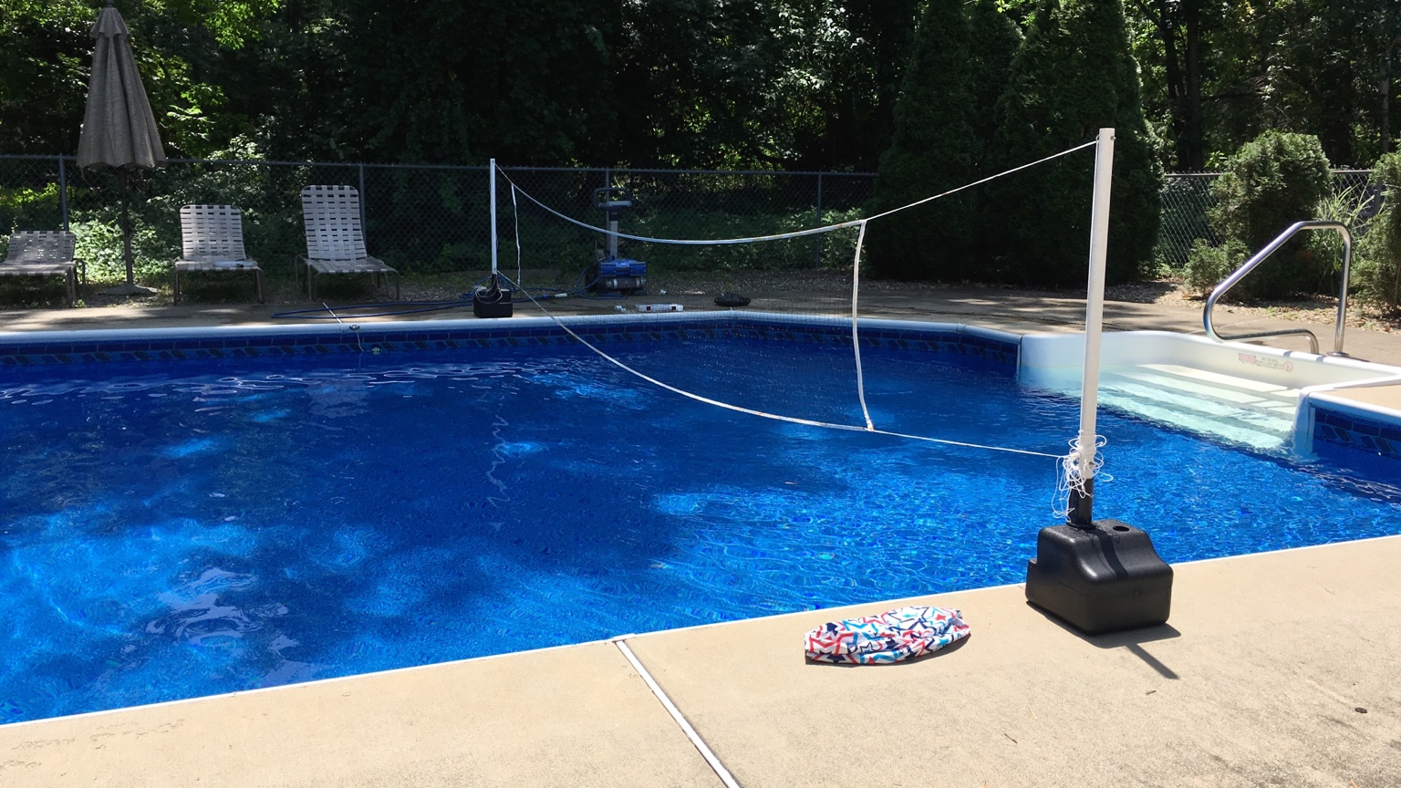 Looking for pictures of pools with darker liners for Pool liners