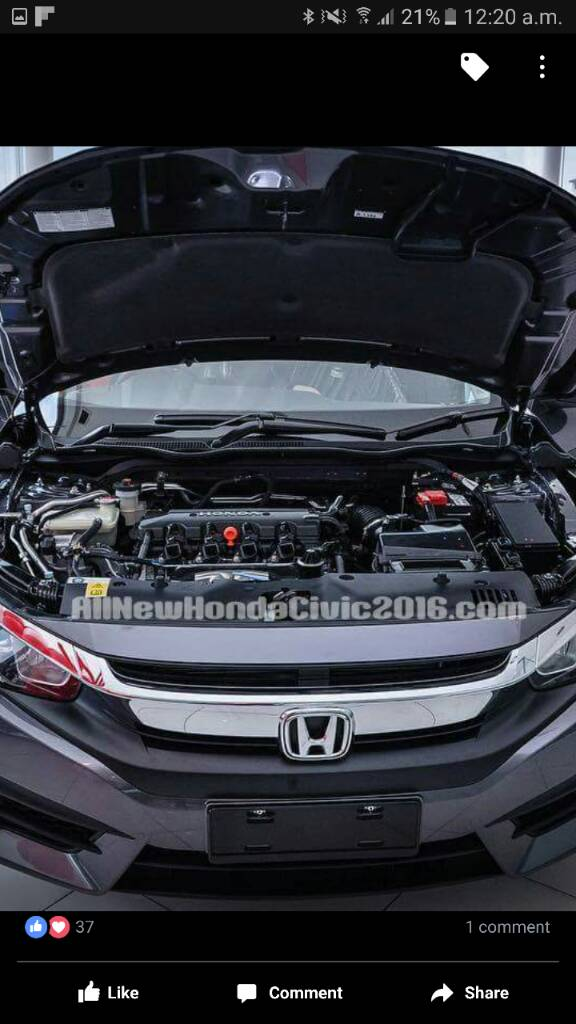 10th Generation Civic Exclusive Pakistan Launch - 37f811724703415762541d6cd80b1382