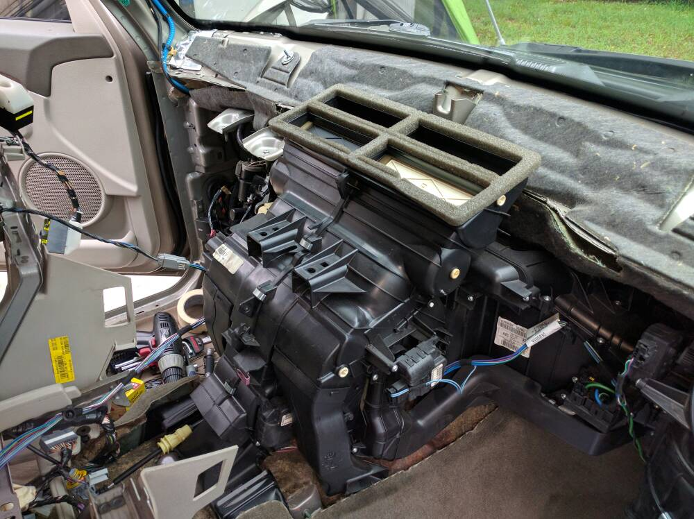 Evaporator Core Replacement Jeep Commander Forums Jeep