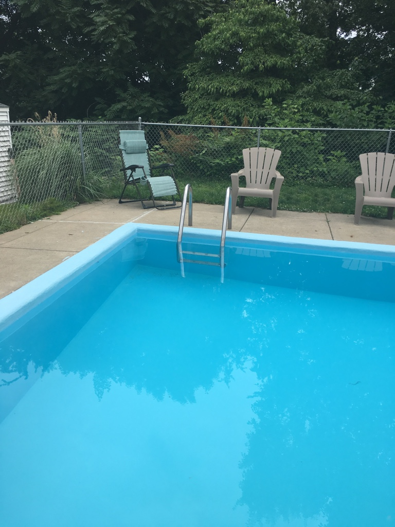 Paint Job Cost >> Installing a new skimmer in existing in ground pool.