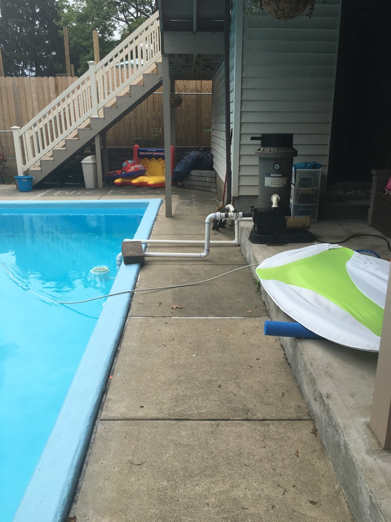 Installing A New Skimmer In Existing In Ground Pool