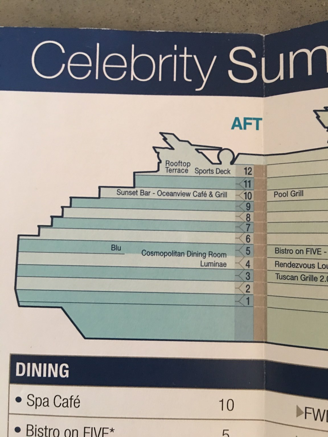 smoking areas on summit cruise critic message board forums