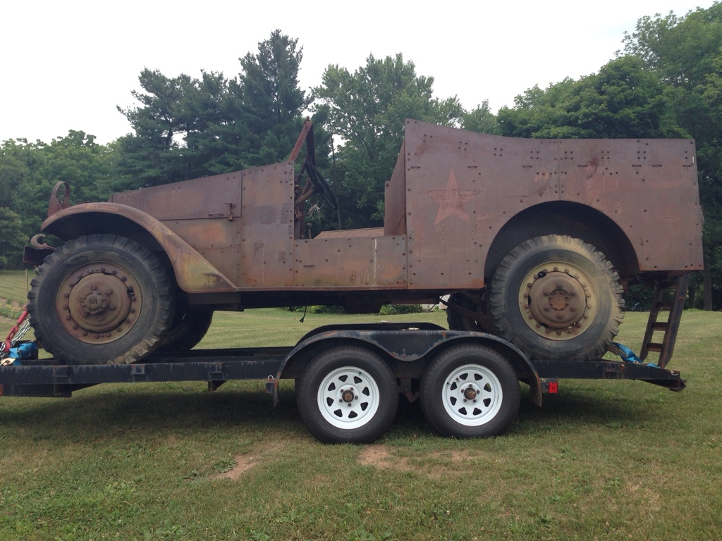 1942 White M3A1 scout car project on