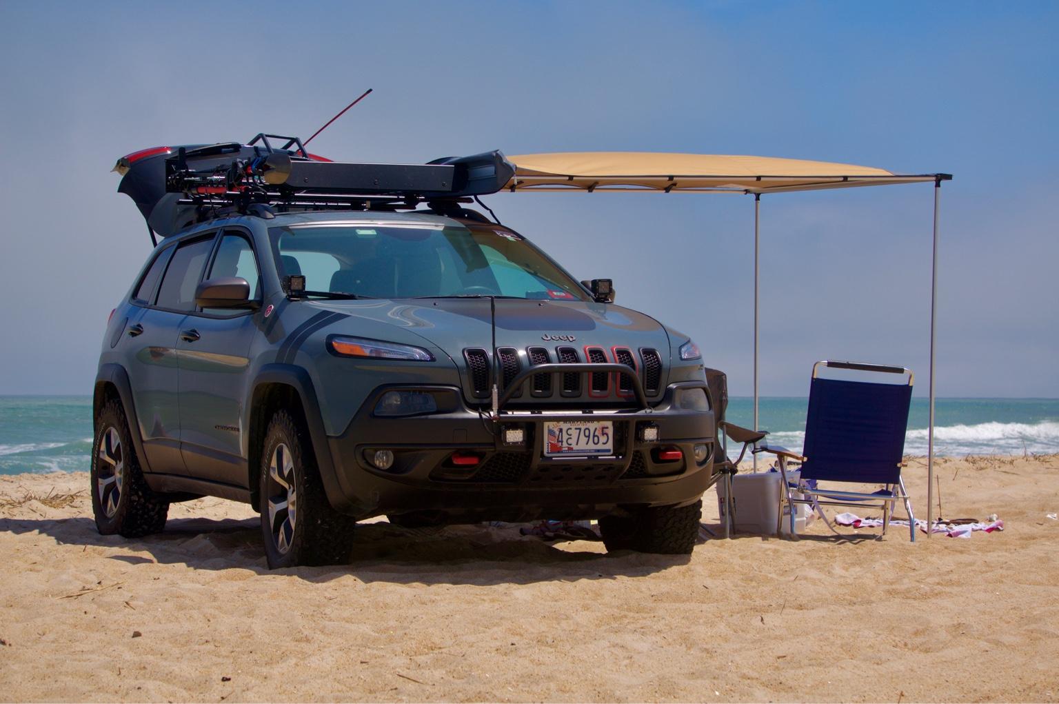 Awning Setups 2014 Jeep Cherokee Forums