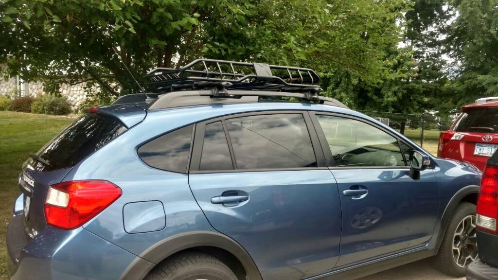 Rhino Rack Roof Basket Club Crosstrek Subaru Xv