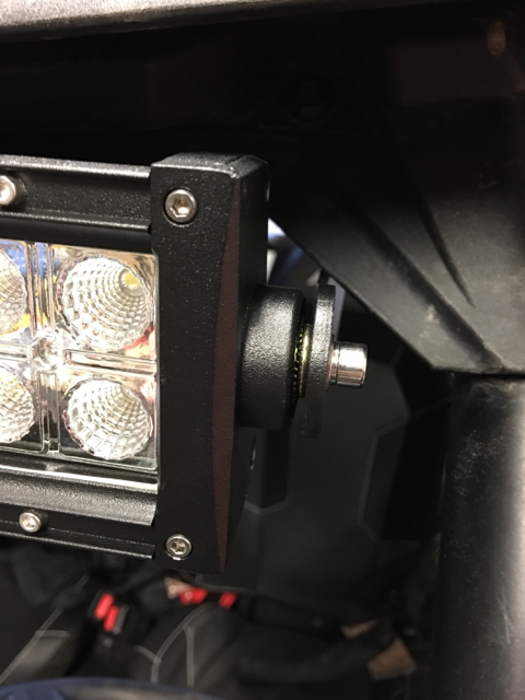 How To Mount 30 Quot Light Bar W Sport Poly Roof Polaris Rzr