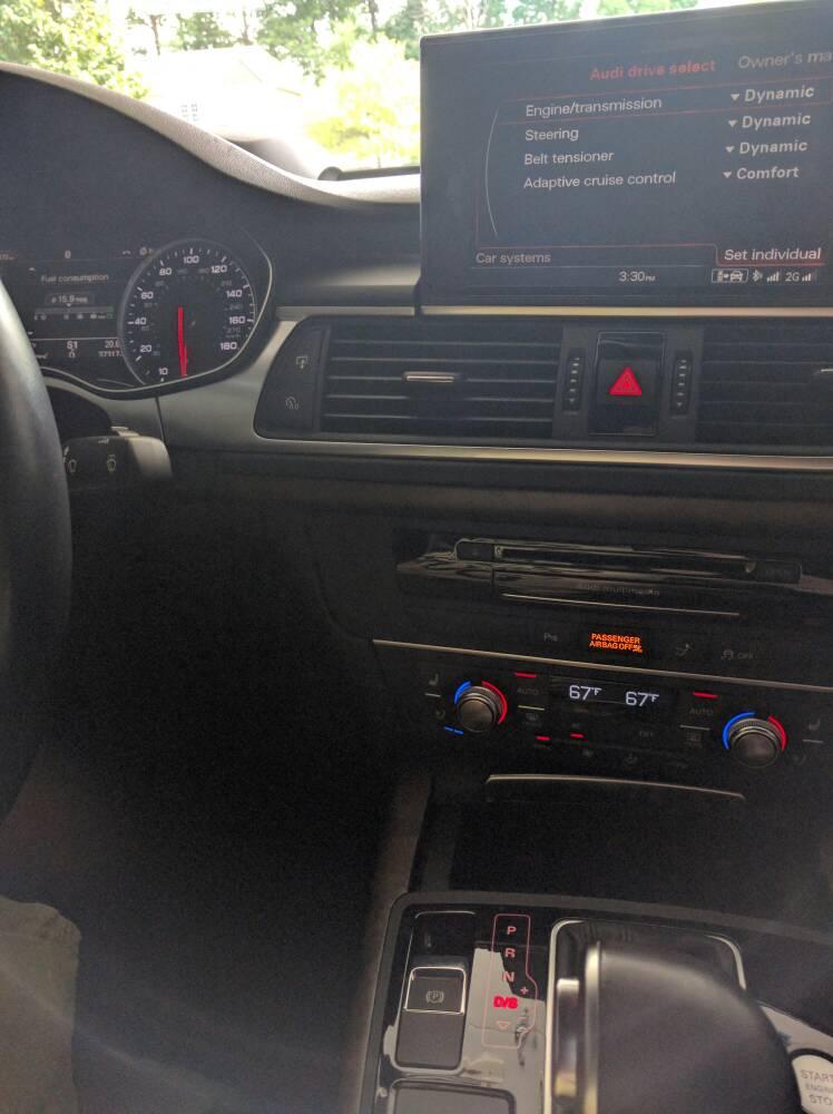 Audi Drive Select >> Audi Drive Select Not Saving