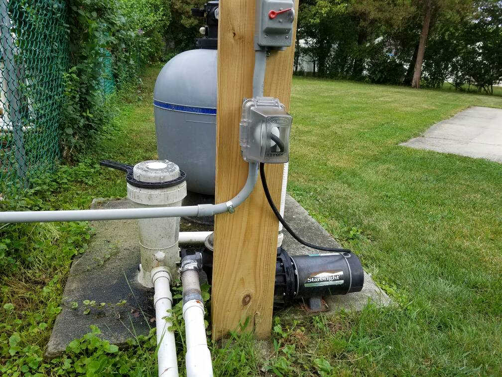 Ig Pump Plugged Into Outlet