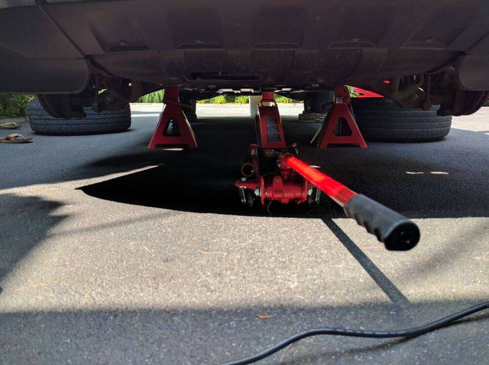 How To Put 13 Gc On Jack Stands Jeepforum Com