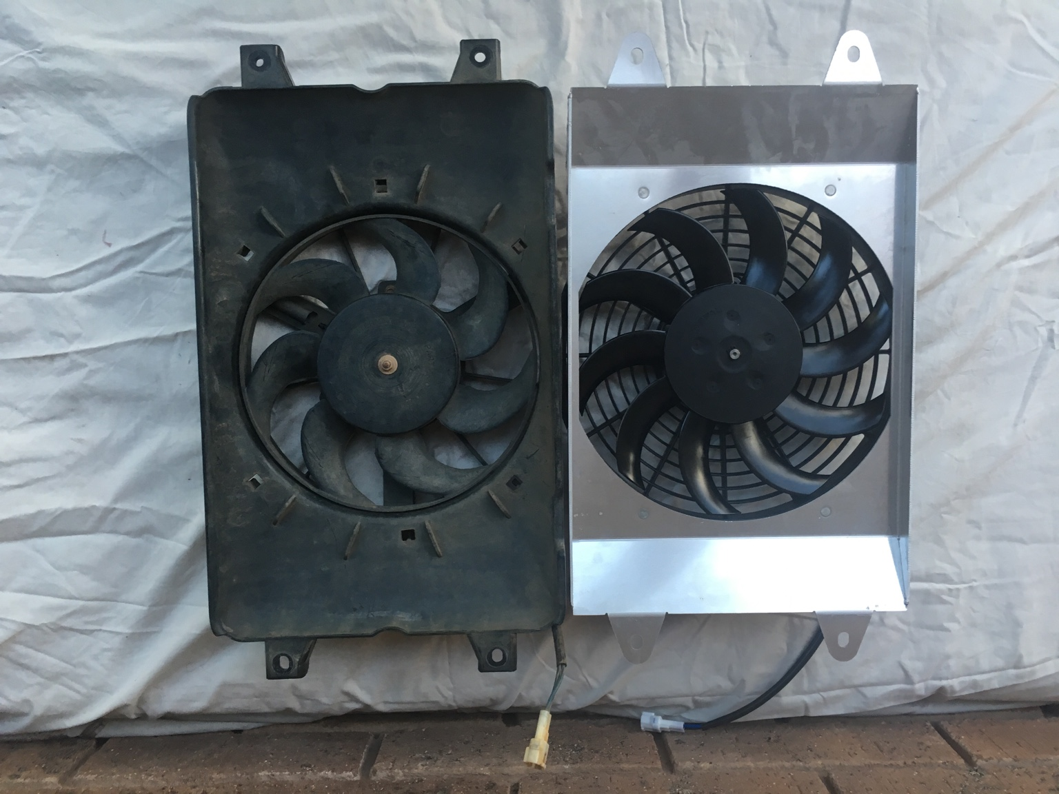 Viking HP SPAL radiator fan upgrade  - Yamaha Viking Forum