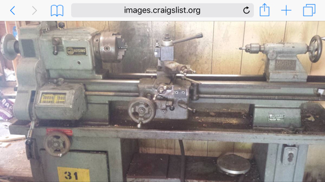 My first lathe (Clausing 6300) - The Garage Journal Board