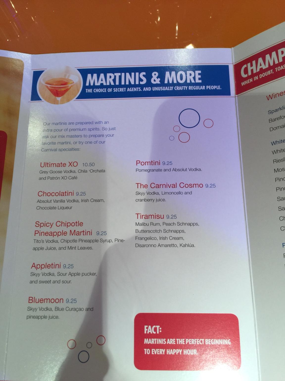 Current Breeze menu - Page 3 - Cruise Critic Message Board ...