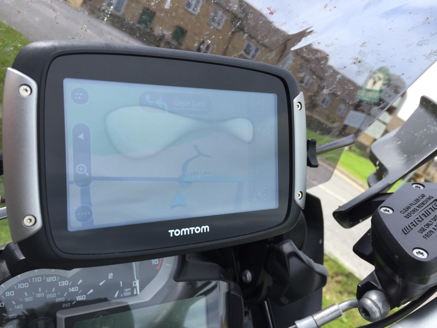 Tomtom Rider 400 screen condensation