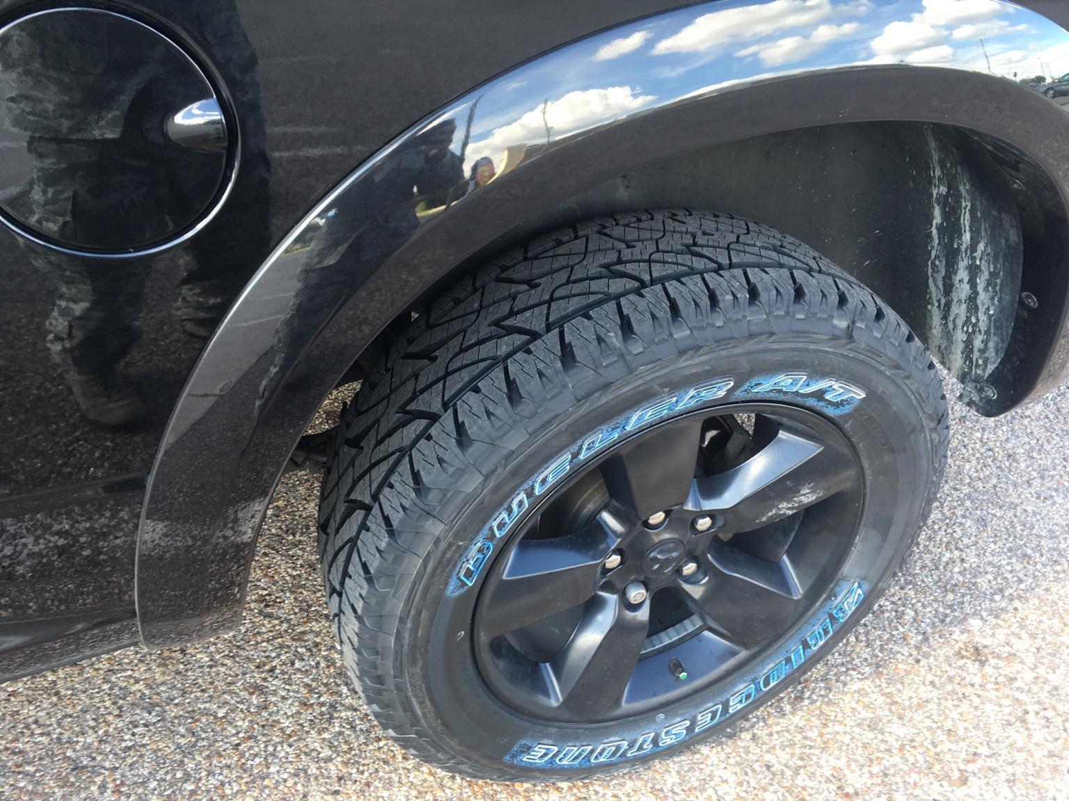 New Tires Dueler Revo 2