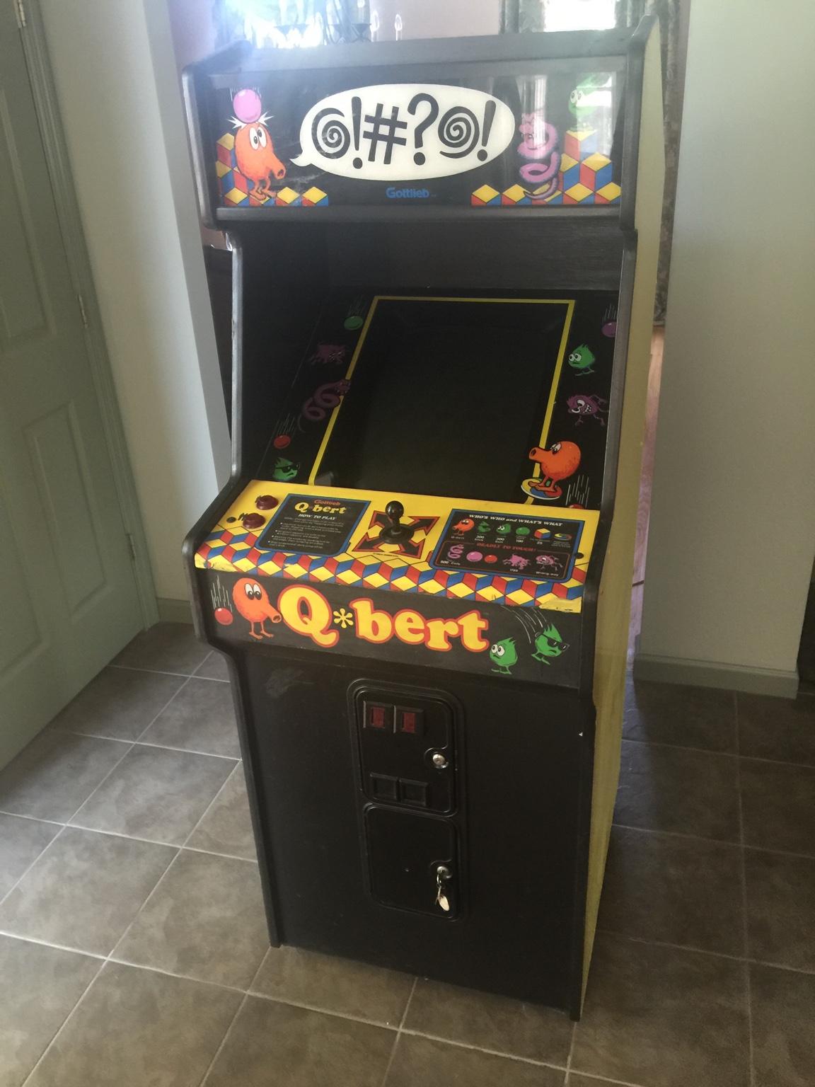 FS Game: Qbert ..... - KLOV/VAPS Coin-op Videogame, Pinball, Slot ...