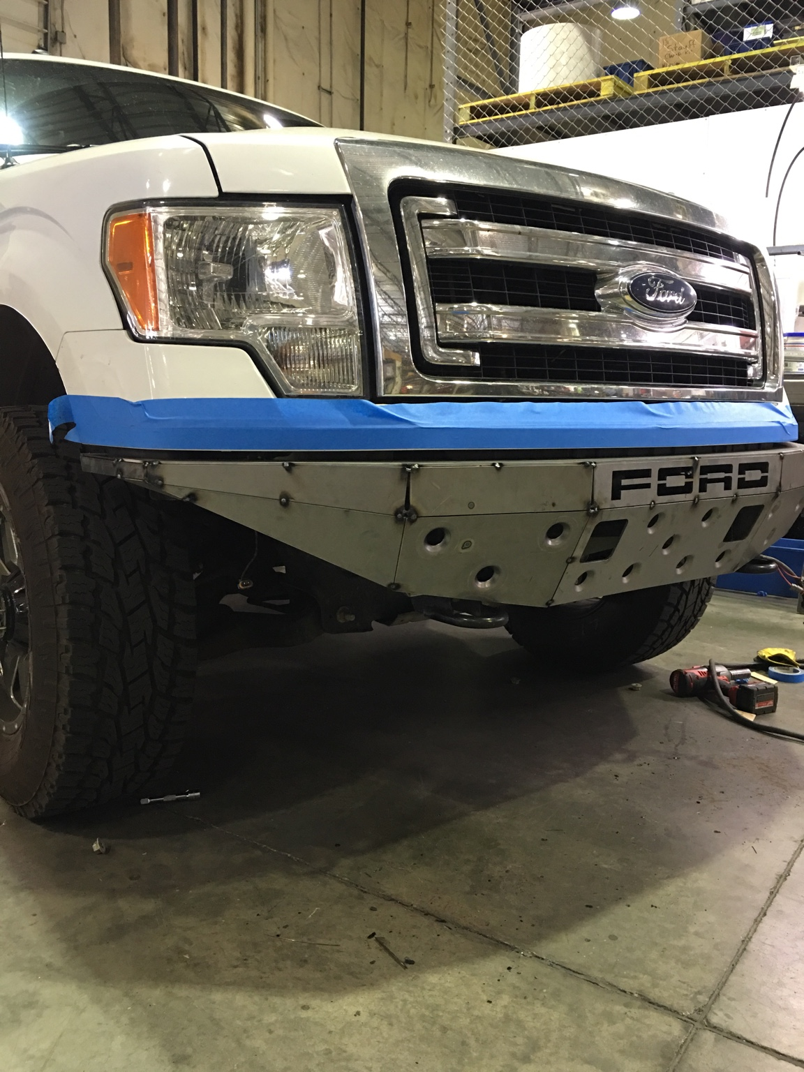 ford f 150 build up