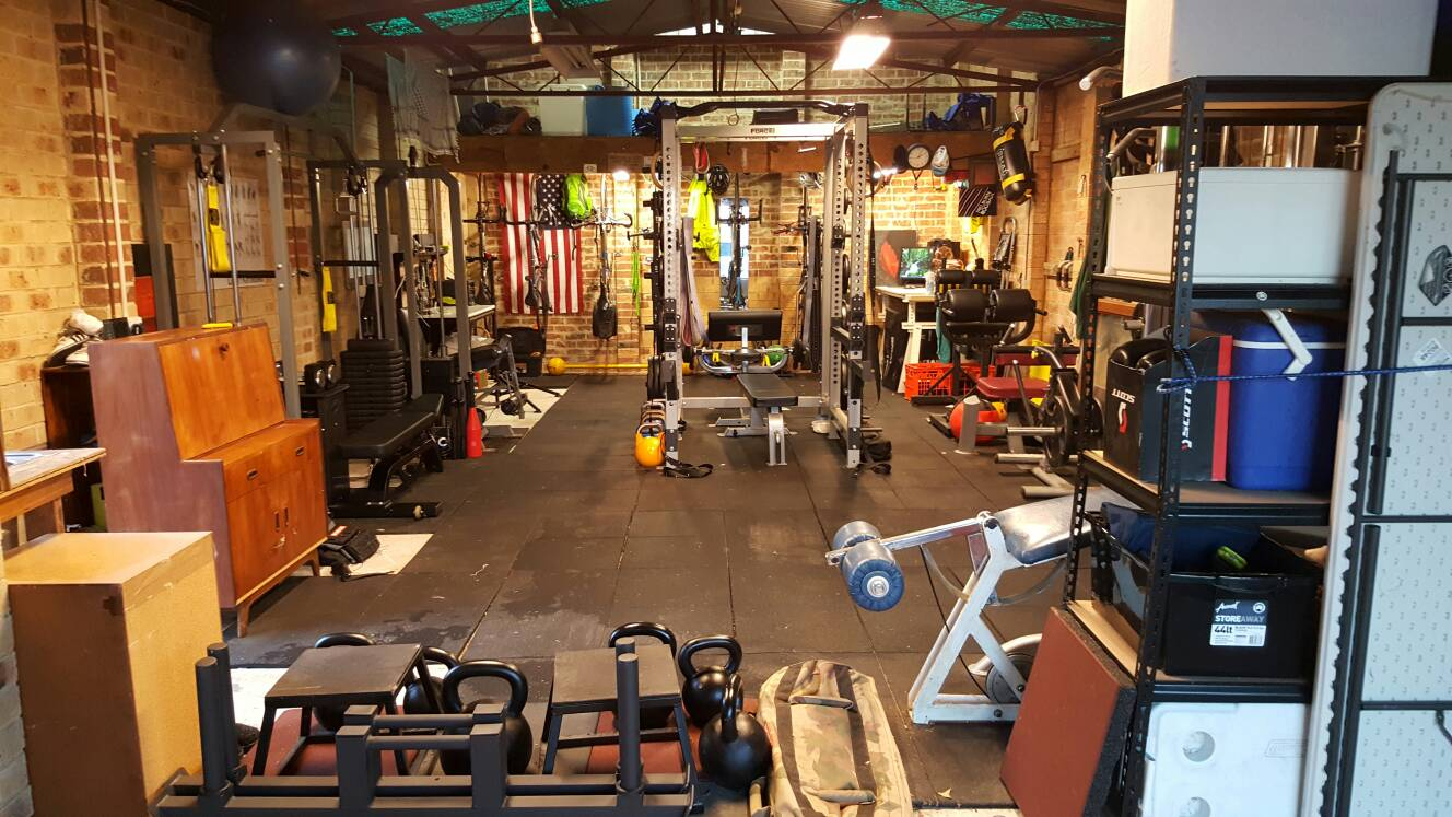 Garage gyms page