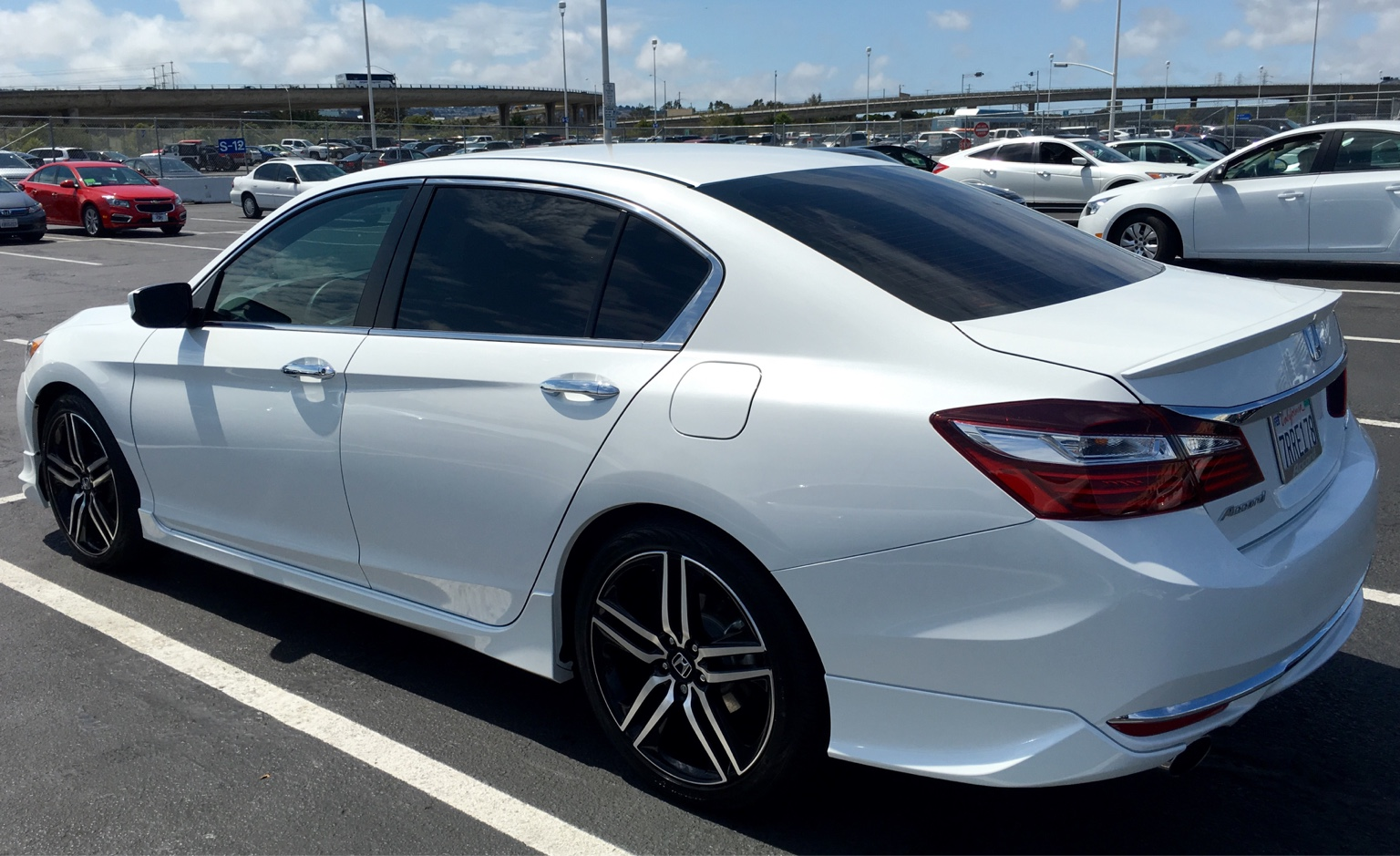 Lowered 2016 Sport Drive Accord Honda Forums