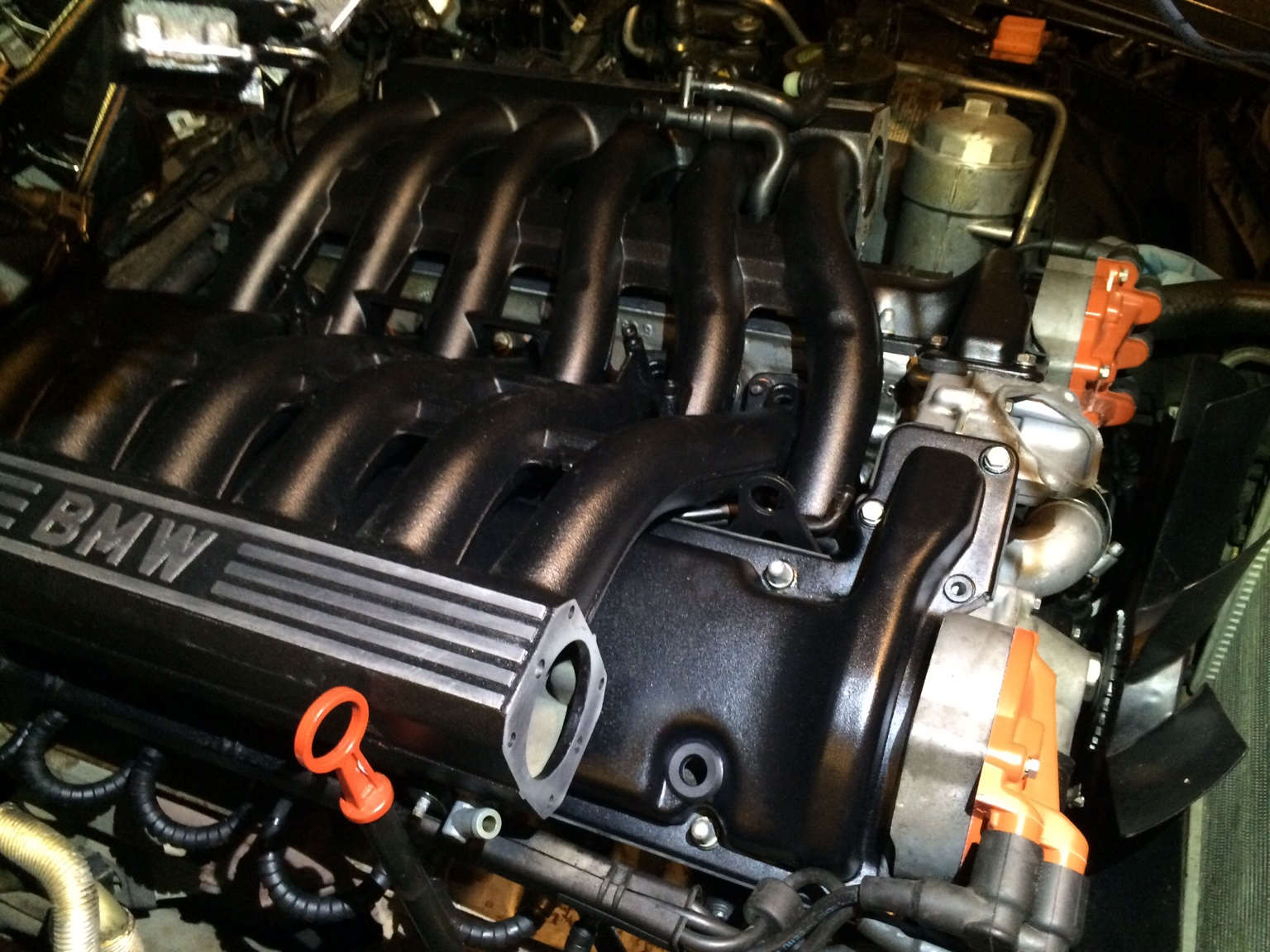 bmw m73 engine oil