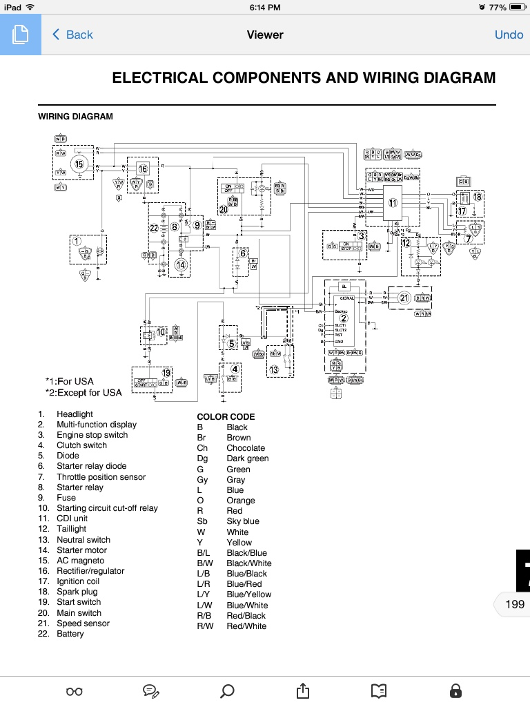 Wr450f Wiring Diagram Diagrams Schematics 2006 Stratoliner Ttr50 2007 Sdo Problem