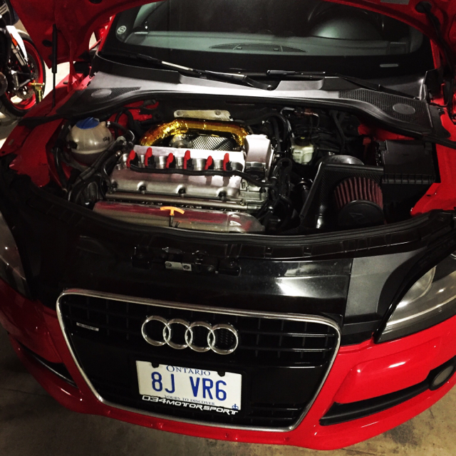 2008 Audi TT 3.2 6MT Turbo Build