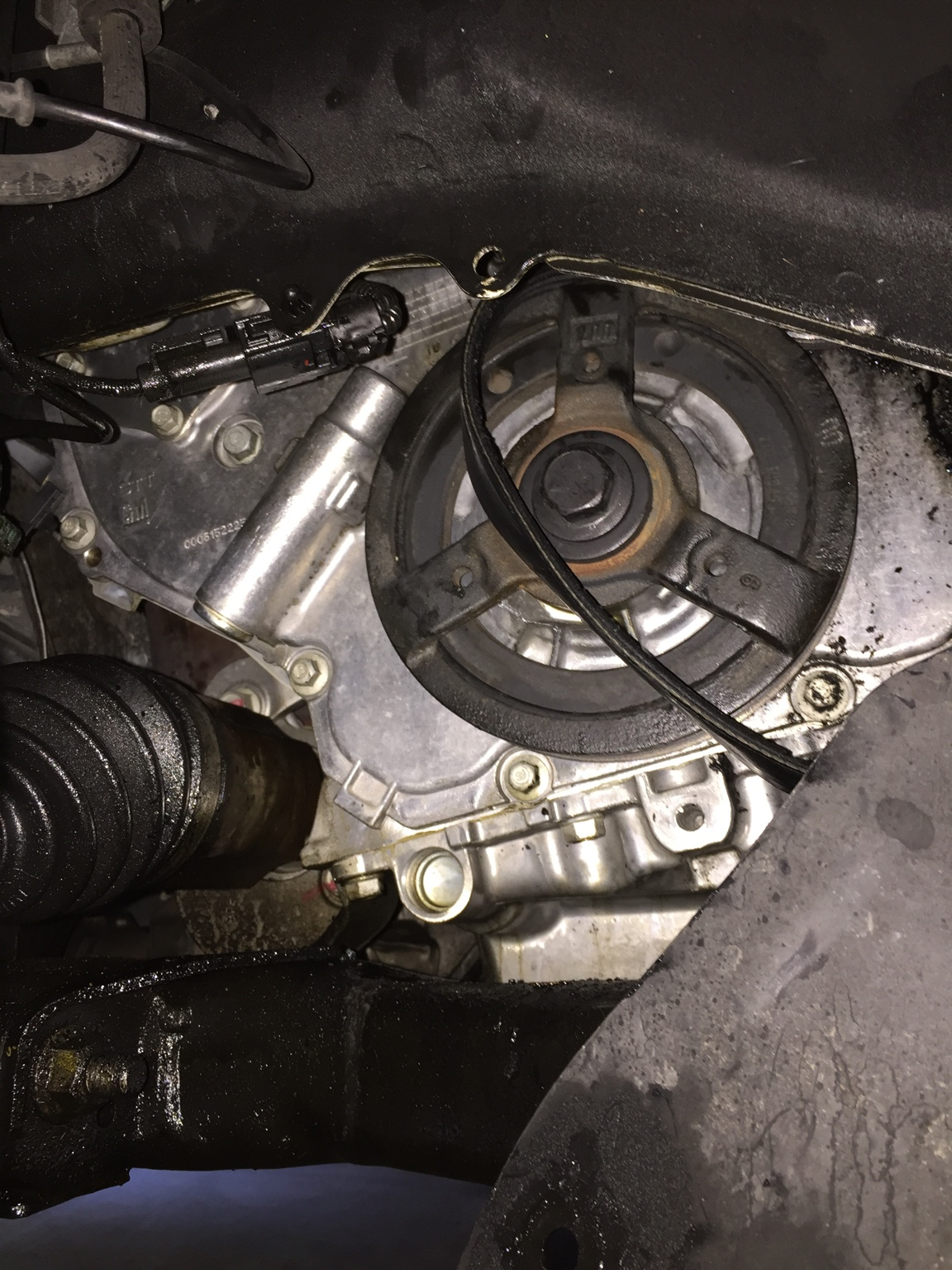 Front Right 4 Cyl Oil Leak Chevy Equinox Forum The Timing Belt And Seal On A Report This Image