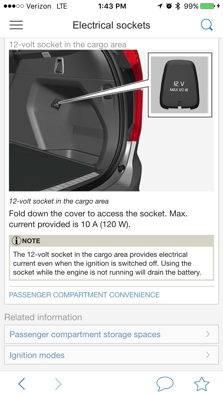 40v outlets   do they switch off   SwedeSpeed   Volvo Performance ...