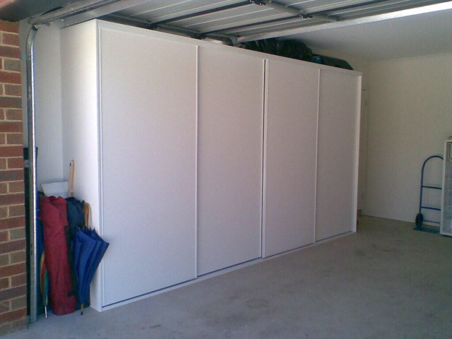 The Doors Will Be On A Closet Sliding Track. My Garage Has 8.5u0027 Ceilings So  I Want My Doors To Be At Least 8u0027 Tall. Iu0027m Looking For Suggestions On How  To ...
