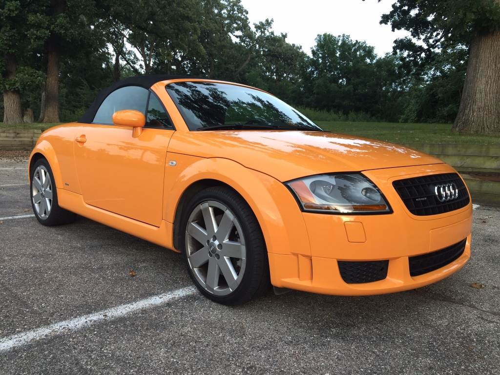 Audi Tt For Sale >> For Sale: 2005 TT 3.2 Quattro. Papaya Orange w/ Baseball ...