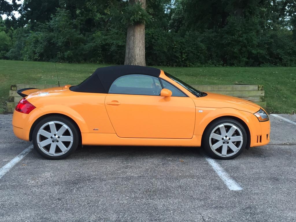 For Sale TT Quattro Papaya Orange W Baseball Optic - Audi tt roadster car cover