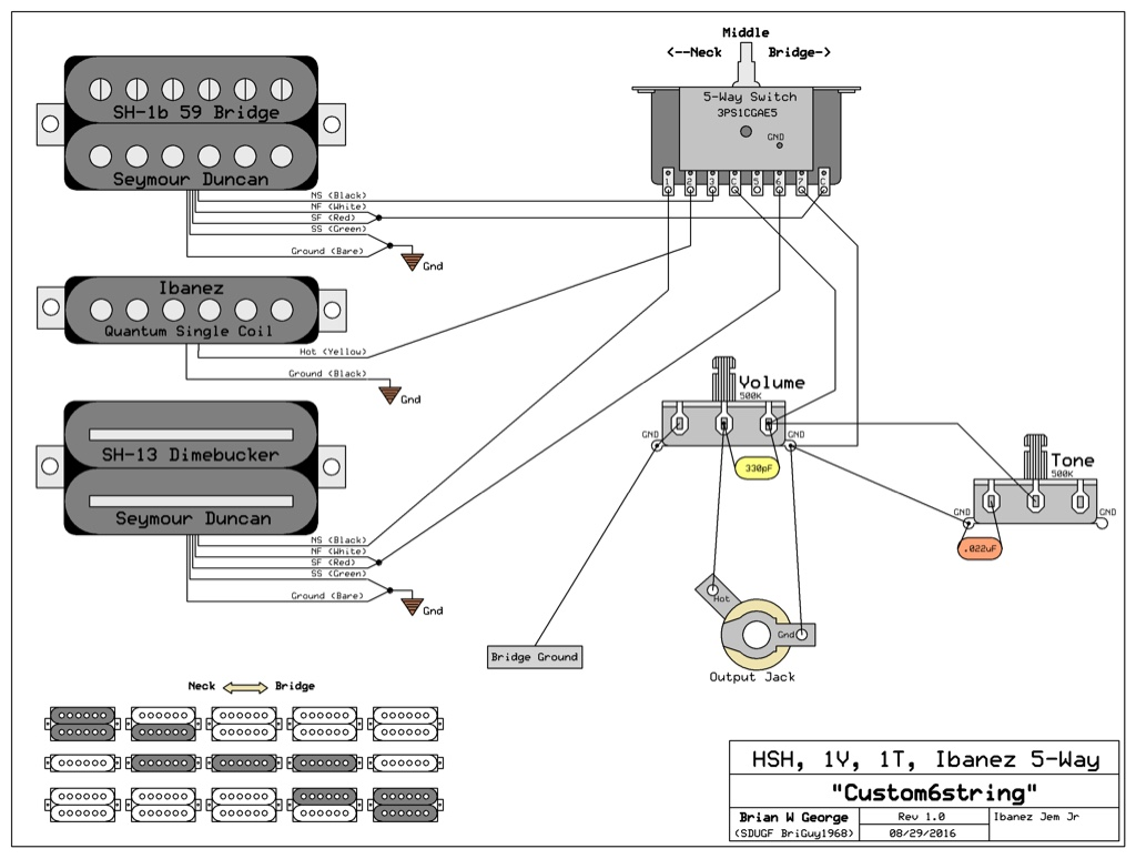 Ltd 7 String Wiring Diagram Problem I Guess Im Saying That Cant Help You With Switch Although Did Find A Says It Will Work But Dont Have Any Way To Verify