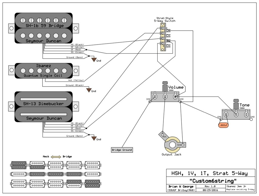 Dimebucker Wiring Diagram Reinvent Your Duncan Problem Rh Seymourduncan Com Carvin Humbucker Seymour