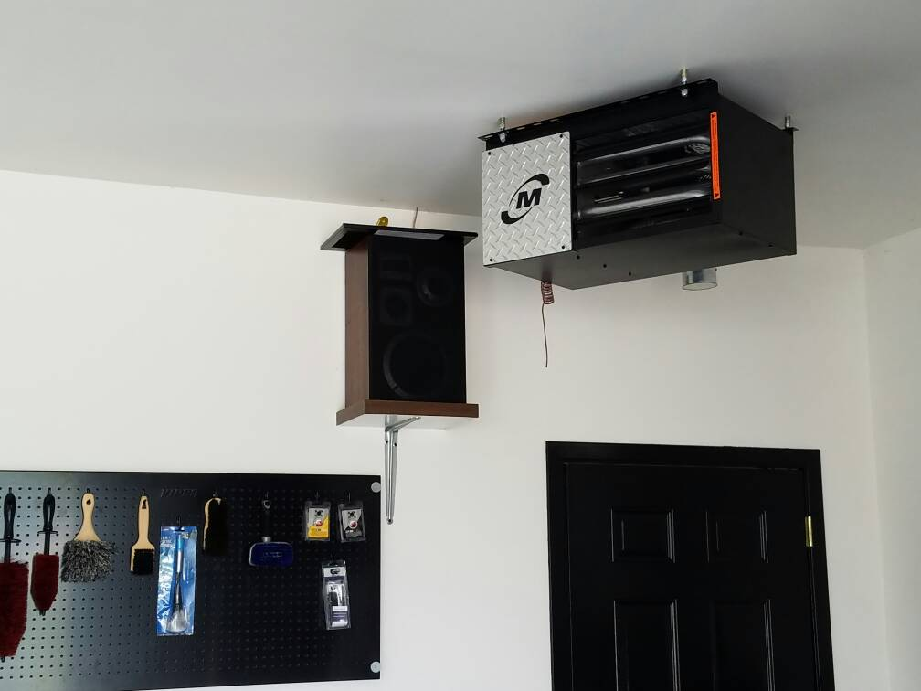 Modine diamond dawg hd45 installed the garage journal board got my garage heated very excited has always been a dream of mine to have a heated garage sciox Image collections
