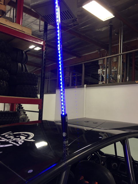 Safeglo S New Ultimate Push Button Quick Release Led Whip