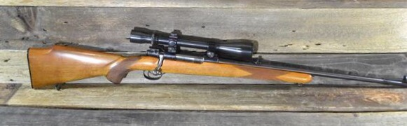 Mauser rifle-model 98-chambered in  220 Swift w/ scope/cash