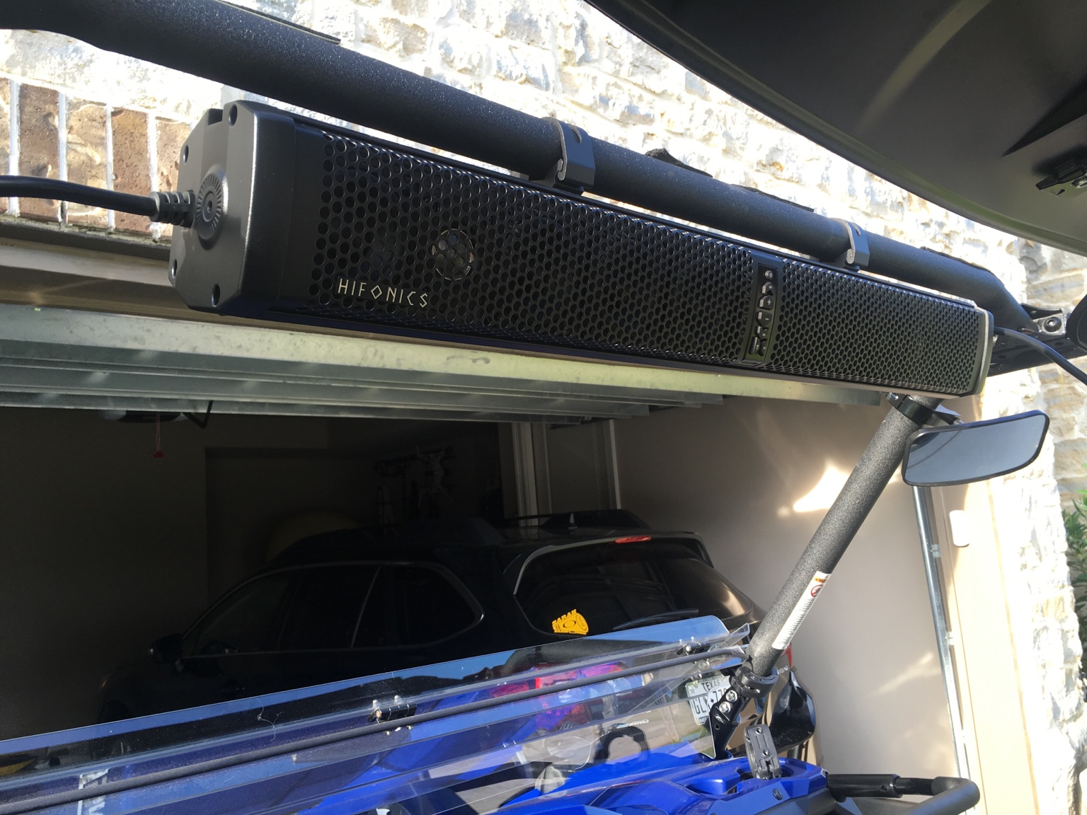 Sound Bar Yamaha Viking Forum Hifonics Wiring Diagram Same Easy Hook Up Took It For A Spin And I Like The Better Also Comes With Mounting Brackets Instructions Are An Absolute Joke But To