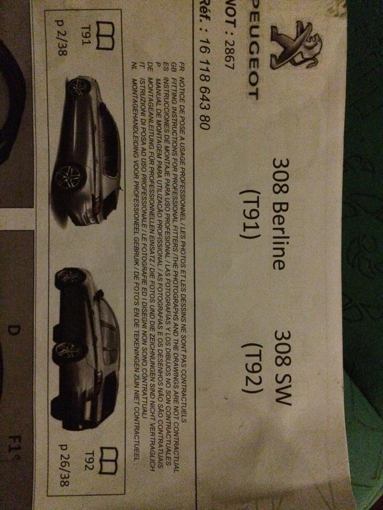 Anhängerkupplung 308 SW II   Peugeot 308 Forum   Seite 2   Community ...