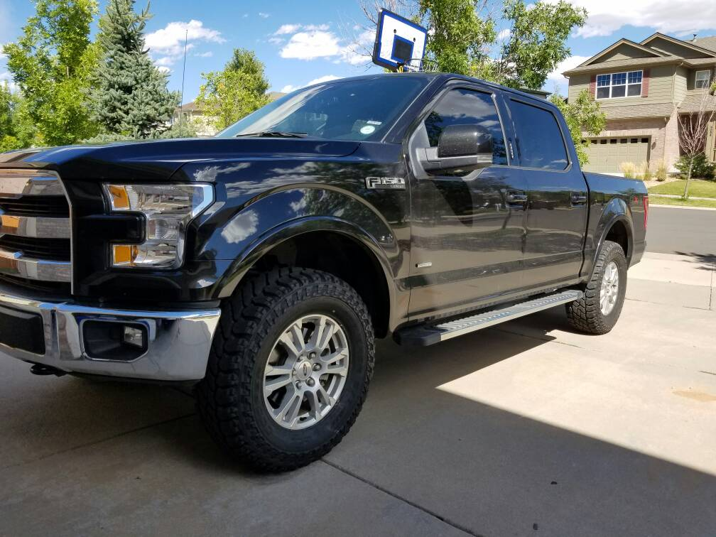 2012 F150 Ecoboost >> Will I regret going with a 295/70/18 on my stock wheels?