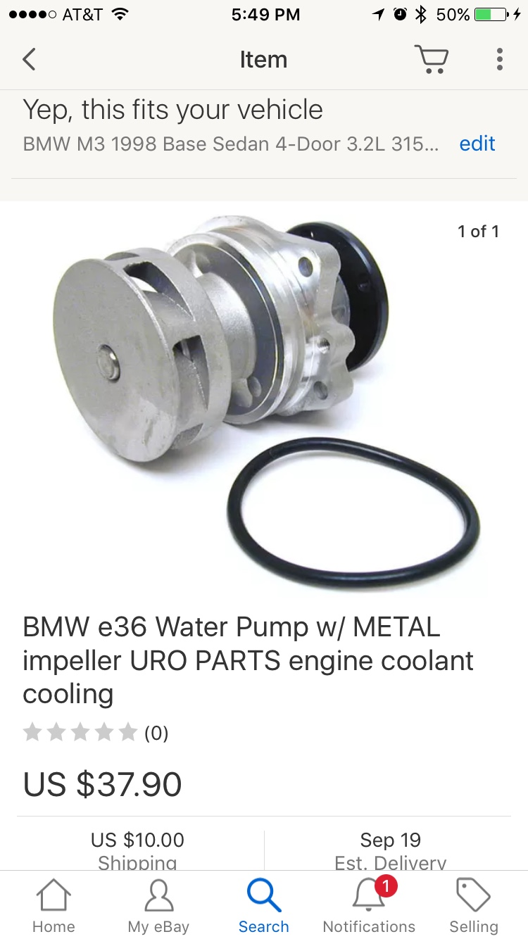 Does anyone have experience with this budget waterpump